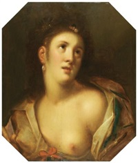 venus, or a young woman en deshabillé by gortzius geldorp