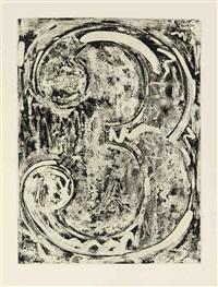 samuel beckett, fizzles (foirades) (album w/ 33 works, text & justif.) by jasper johns