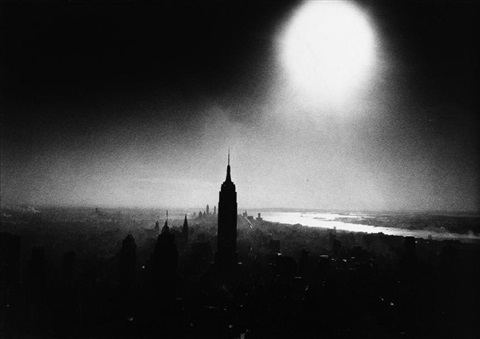 empire state building by william klein