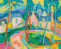 vieux village de seine et marne by raymond solari