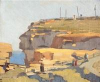 the gap at watson's bay by herbert edward badham