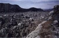 série des volcans by joan jonas