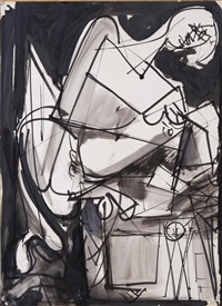 untitled (double-sided) by hans hofmann