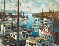 outward bound, fisherman's wharf by john garth