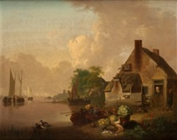 casa junto al lago by jan van os