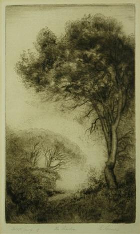 the garden by elioth gruner