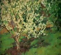 le pommier en fleurs by helena tabakova