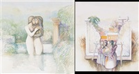 sacred love (+ salmacis and hermaphroditus; 2 works) by john picking