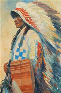 chief hector crawler (calf child) by reinhold h. palenske