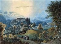 mondnacht im wienerwald by peter hartmann