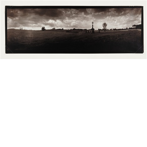 untitled landscape in southeren bohemia by josef sudek