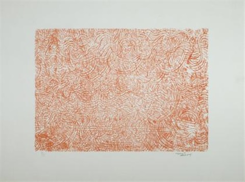 mandarin flowers by mark tobey