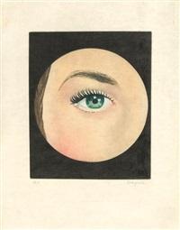 after. l'oeil (from le lien de paille) by rené magritte