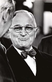 harry truman by mark kauffman