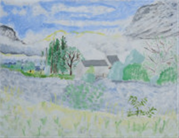 the mill, la toraine (sic) by kate nicholson