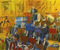 l'orchestre by raoul dufy