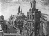 lower mt. vernon street by harriot b. newhall