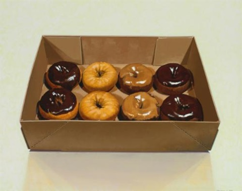 boxed donuts by ralph goings