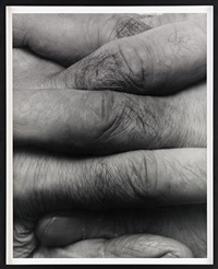 interlocking fingers, no 8 by john coplans