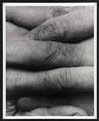 interlocking fingers, no 8 by john coplans