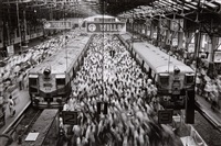 churchgate station, bombay by sebastião salgado