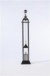 cercle tournant clock by arnold van der duim
