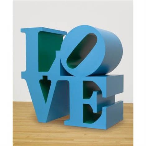 love bluegreen by robert indiana