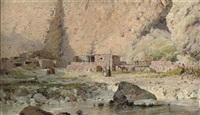 a caucasian farmstead by g. iantsen