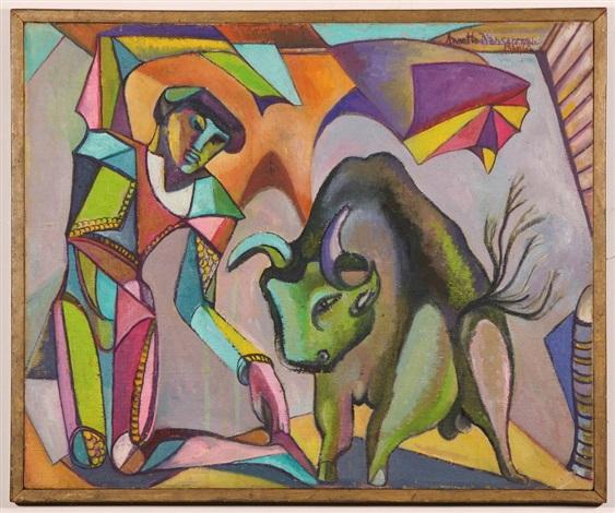 torero arlequin by annette nancarrow