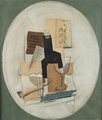 still life with vessels and sheet of music by anonymous-czech (20)
