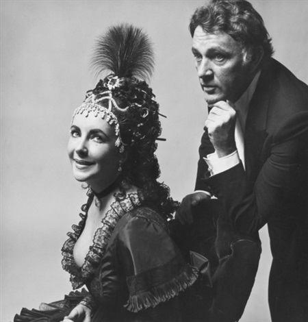 elizabeth taylor and richard burton rothschild proust ball by cecil beaton
