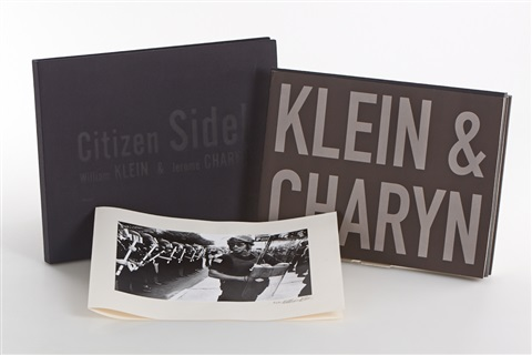 citizen sidel bk by jerome charyn w6 works by william klein