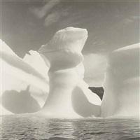 iceberg no.6, disko bay, greenland by lynn davis