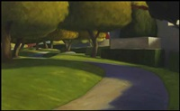 palm springs sidewalk i by ross penhall