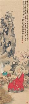 红衣罗汉 (buddha) by xu ju'an