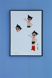 astro boy by invader