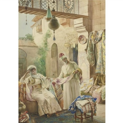 a seller of rugs by amedeo simonetti