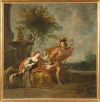 allégorie de l'amour by erasmus quellinus the younger