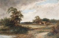 gomshall, surrey by r. percy