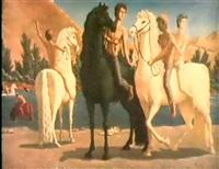 la baignade des chevaux by rachid assaiev