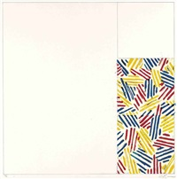 no.4 (from 6 lithographs (after untitled 1975)) by jasper johns