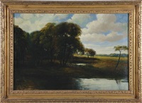 river landscape by george herbert mccord