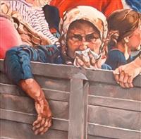 série: les réfugiés by camilla adami