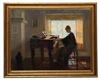 interior scene by marguerite stuber pearson