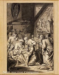 the circumcision of isaac: gen. 21:4 by bernard picart