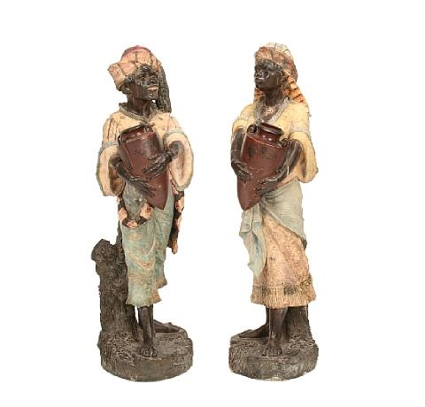figures of arabs pair by austrian school 20