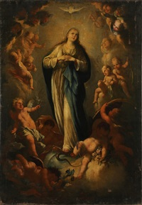 the immaculate conception unframed by spanish school (18)