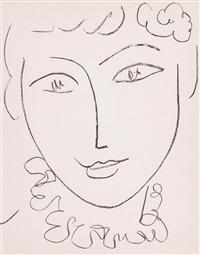 madame pompadour, portraits by henri matisse