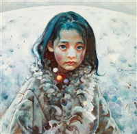 tibet girl by ai xuan