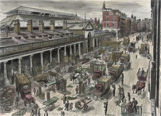 covent garden market by frances macdonald
